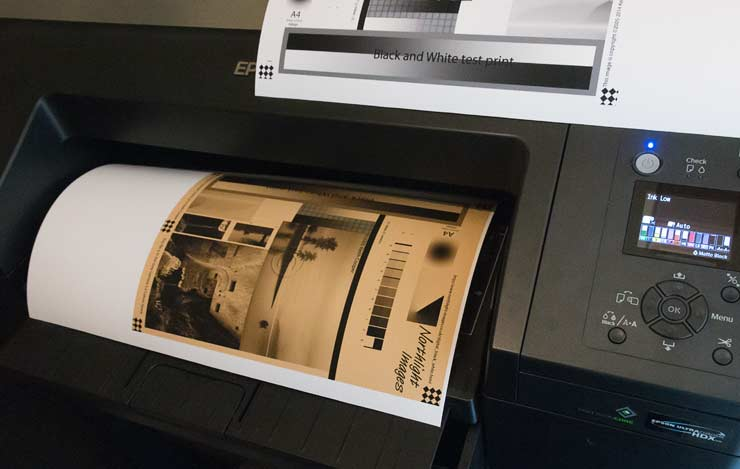 sepia print