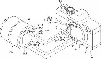 Nikon lens Z mount patent