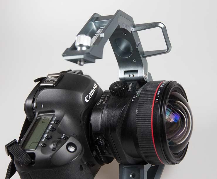 lens placed in frame