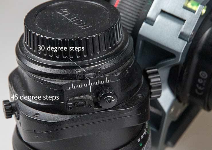 tse lens rotation