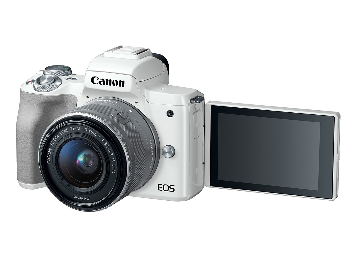 Canon EOS M50 24MP mirrorless camera with EF-M lens mount
