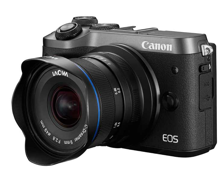 9mm on EOS-M