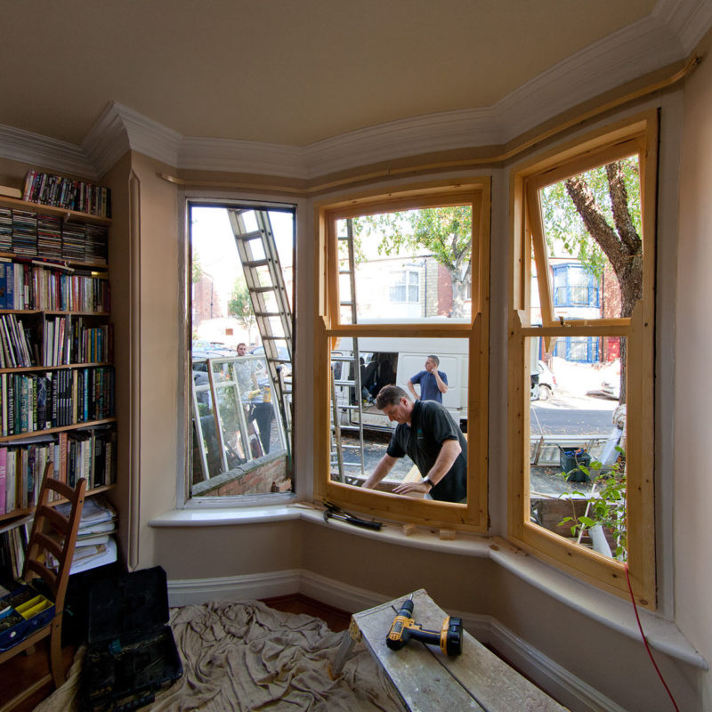 Domestic window replacement