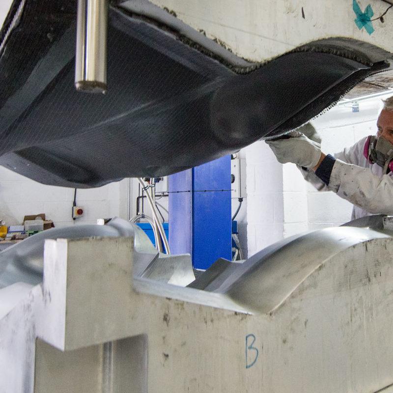 Carbon fibre composites