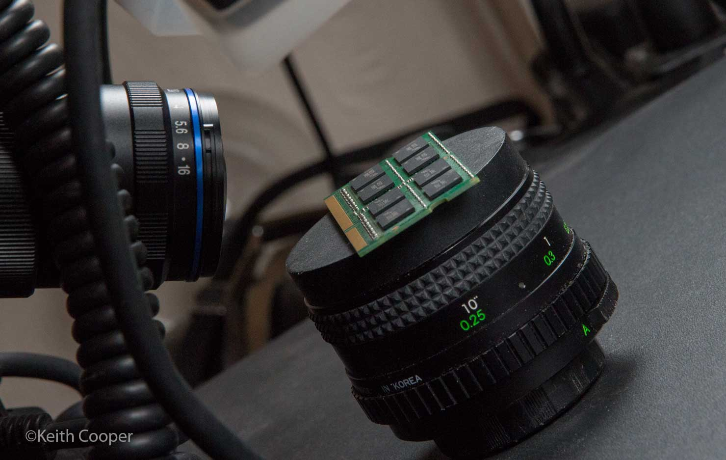 dof test setup