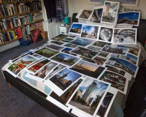 batch of test prints