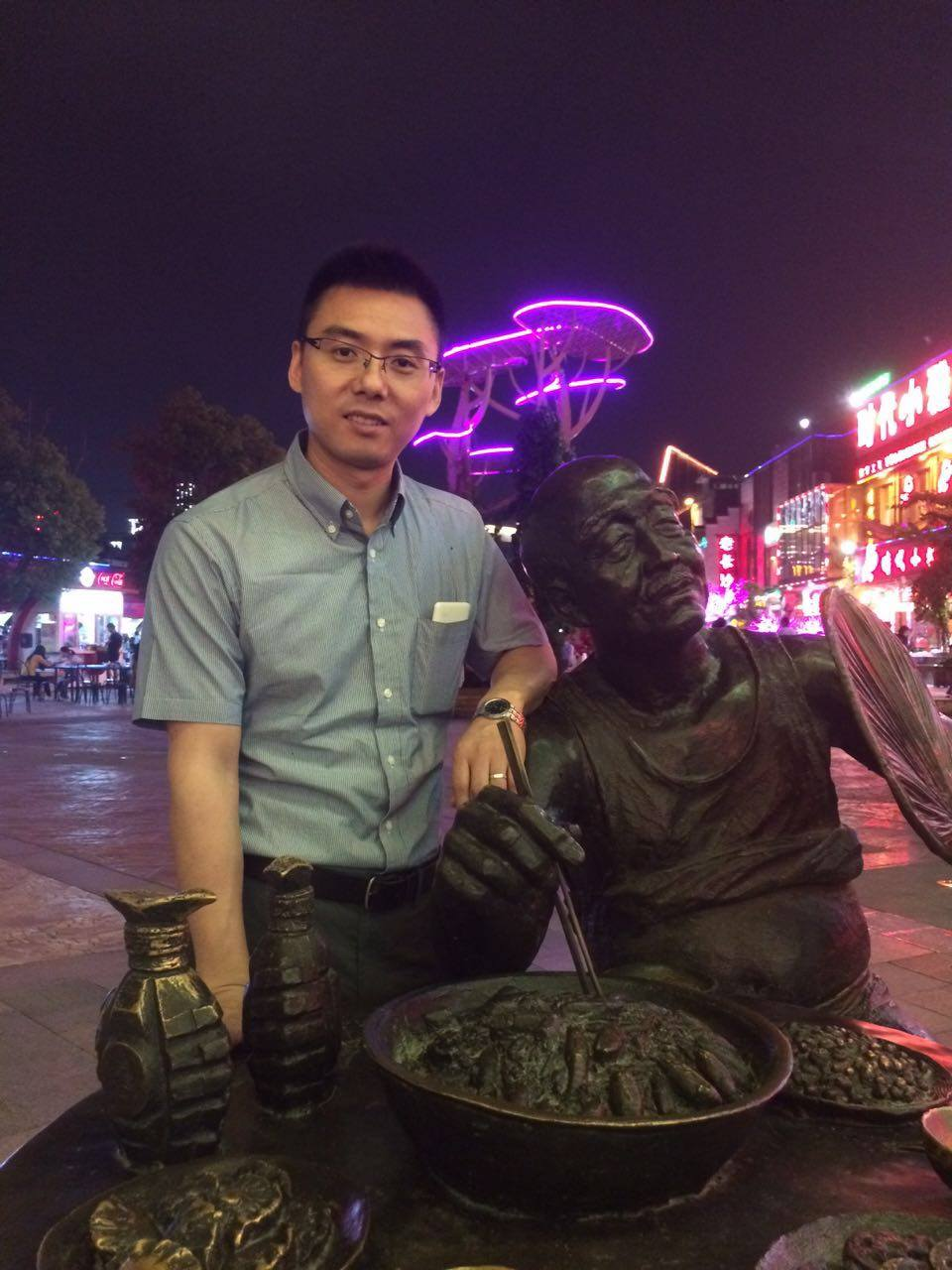 Mr. Dayong Li of Venus Optics