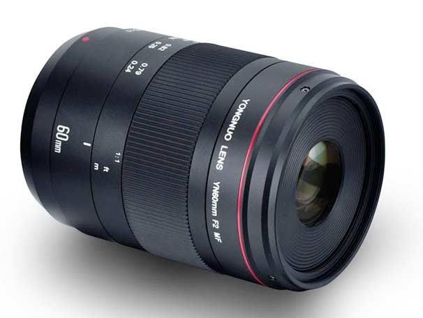 Yongnuo YN 60mm f2 MF macro lens