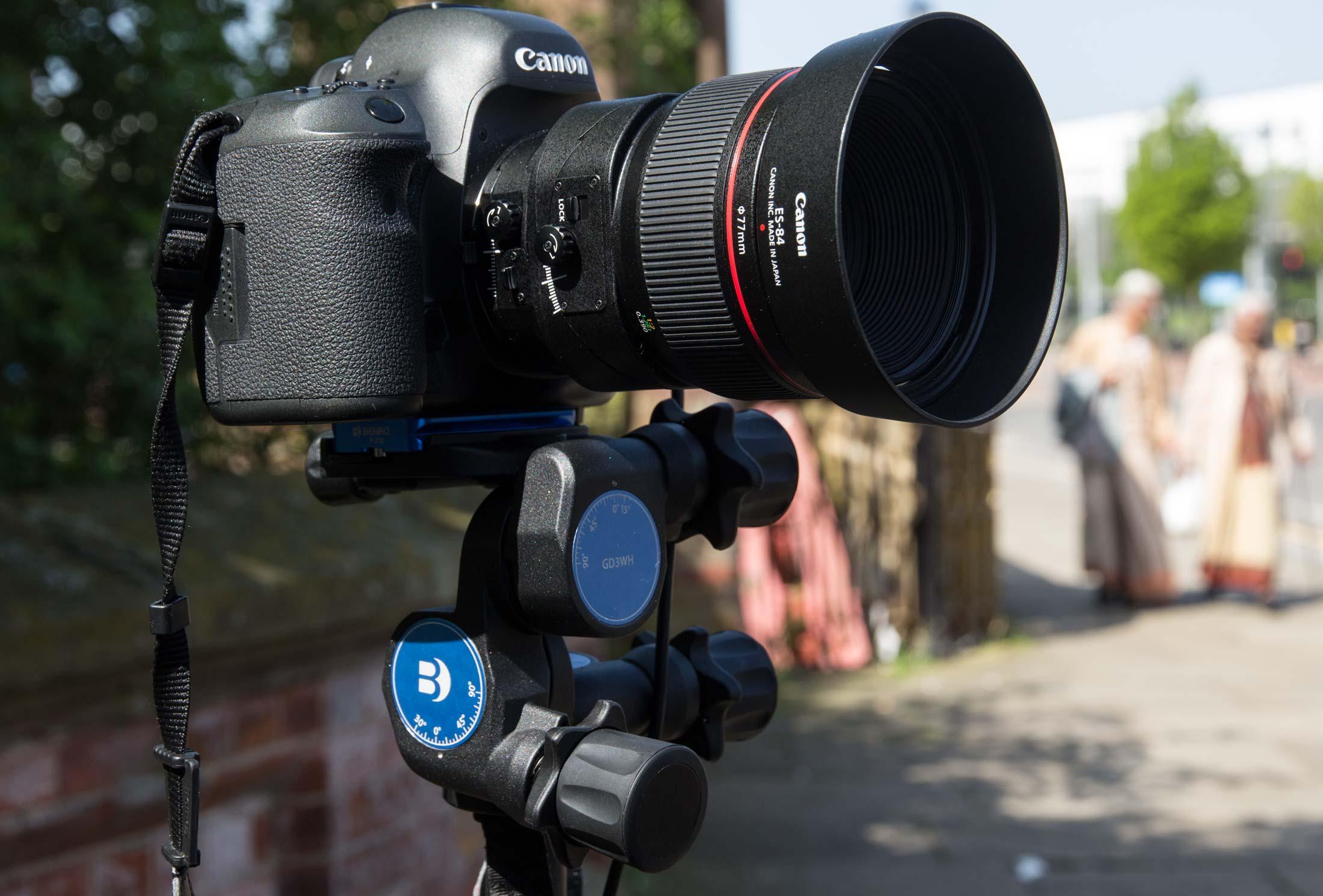 head and camera