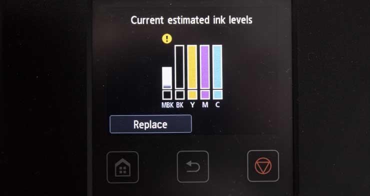 low ink
