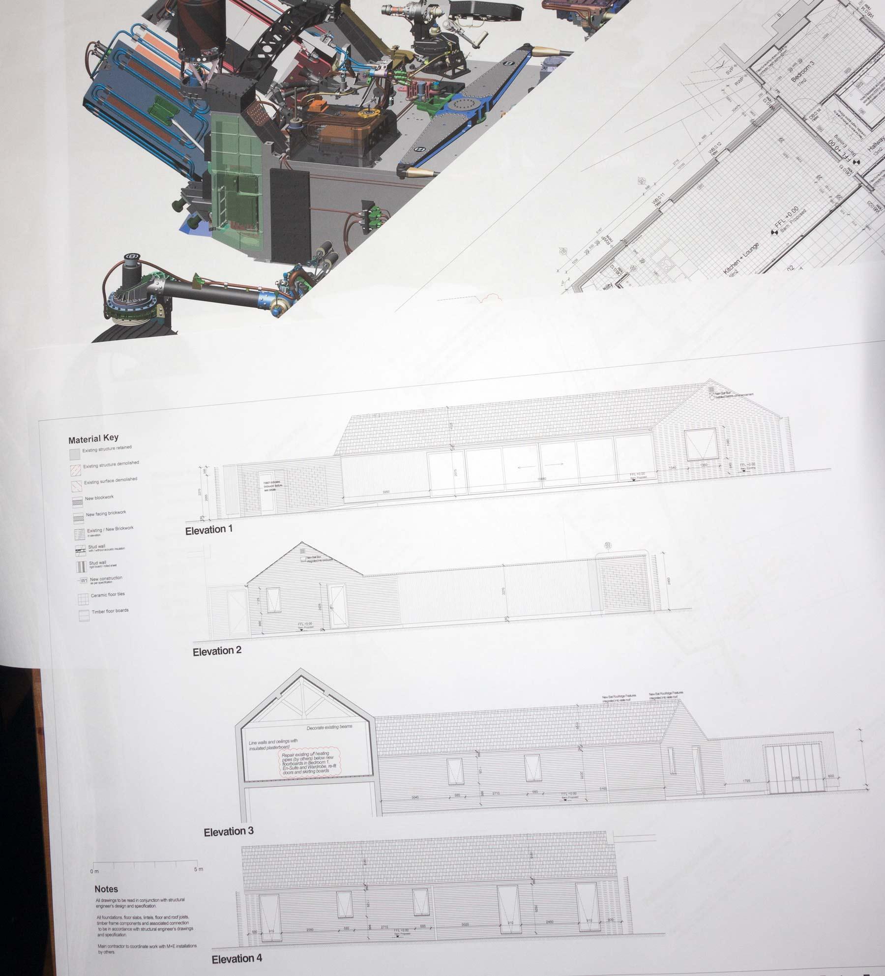 plans on plain paper