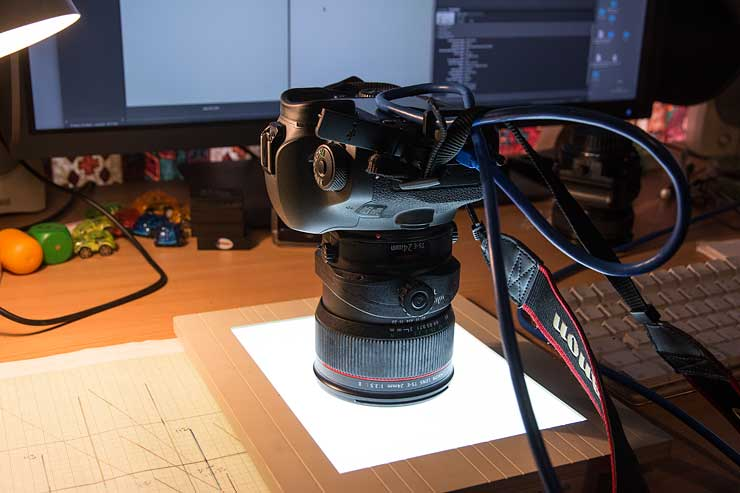 24mm vignette test