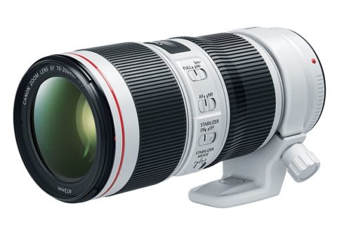 Two new Canon EF 70-200 Lenses