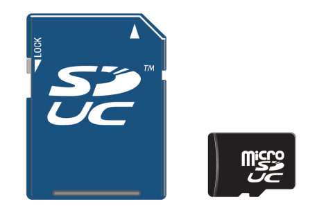 SDUC Express new memory card format