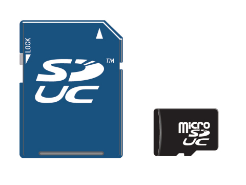 Sduc Express New Memory Card Format Launched