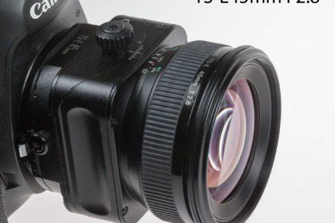 TS-E45mm F2.8 lens review