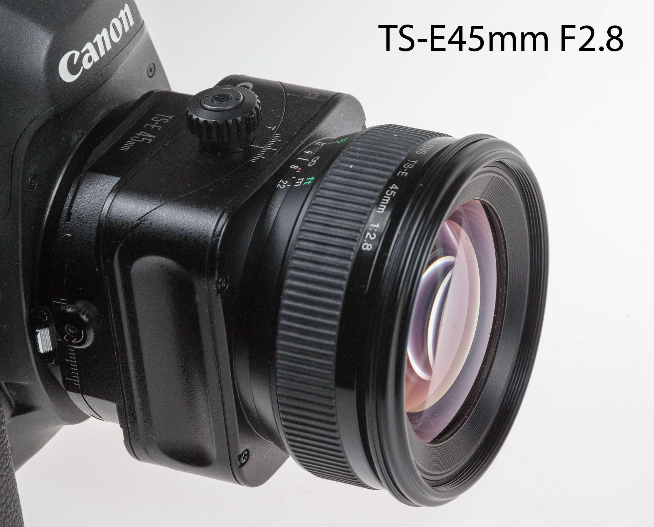 Canon TS-E 45m F2.8