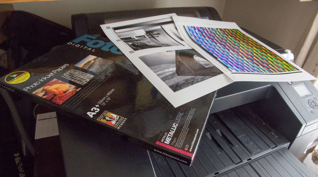 Fotospeed Metallic Lustre 275 gsm paper review