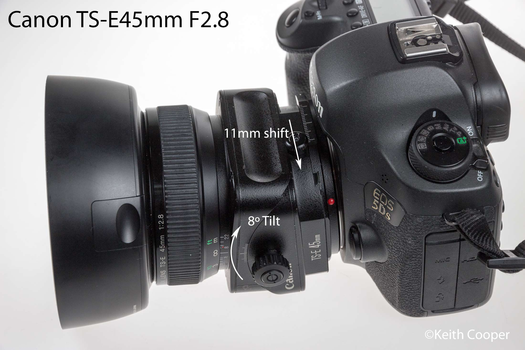 Canon ts-e45 on 5Ds