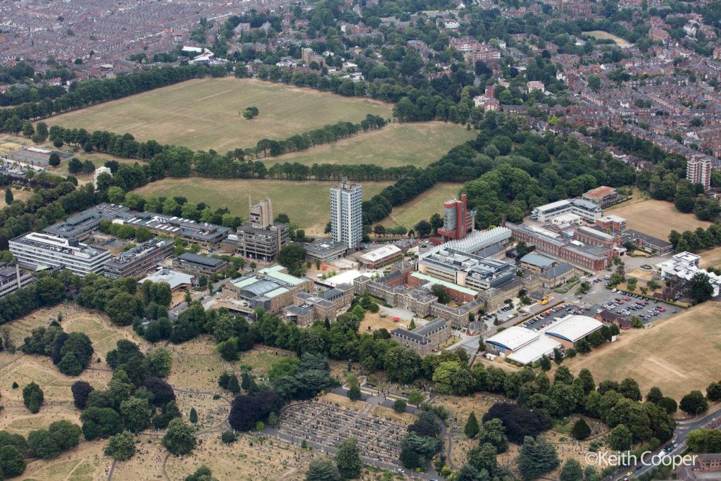 Leicester university campus