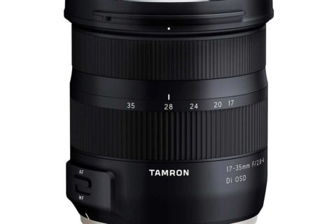 New Tamron 17-35 zoom lens for full frame