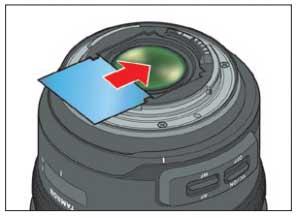 rear filter holder