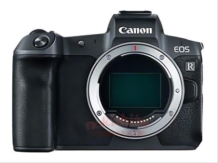 EOS R Lens mount