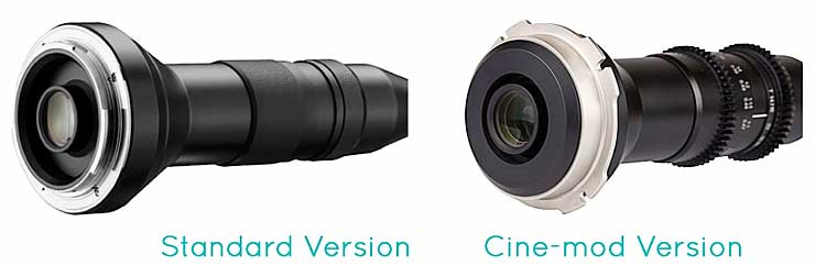 cine mount options