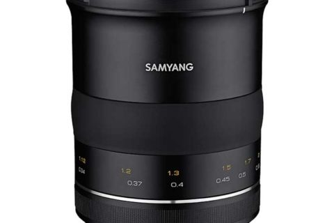 Samyang XP 35mm f/1.2 announced
