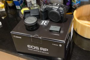Using the Canon EOS RP