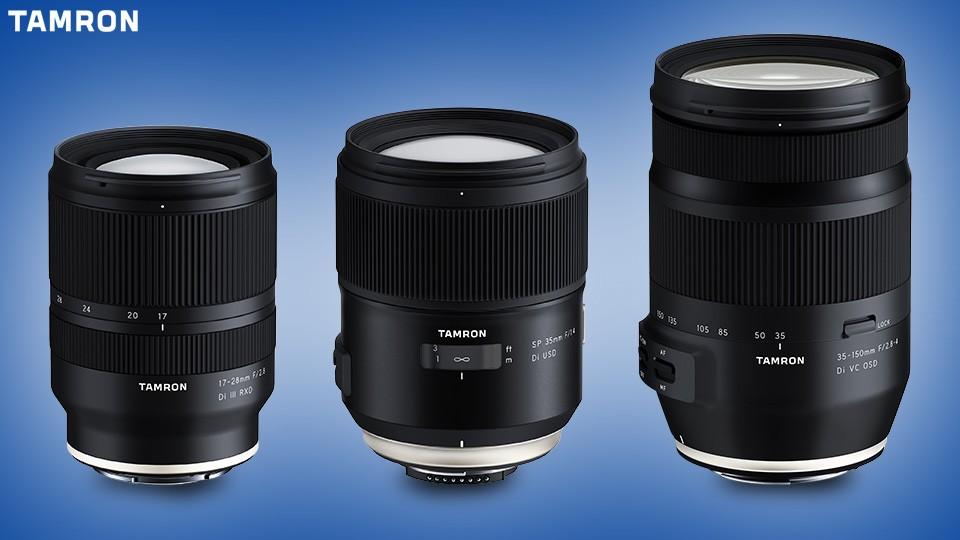 Tamron-announces-the-development-of-three-new-lenses