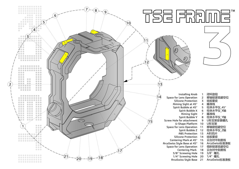 tse frame parts