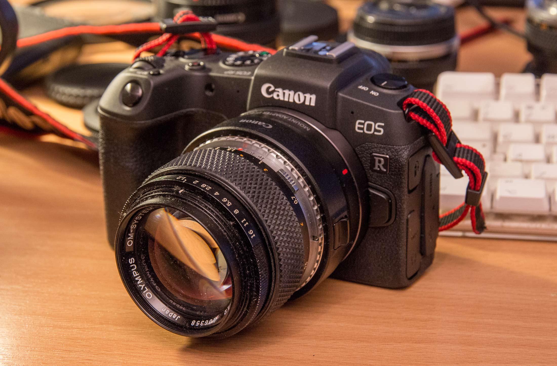 rp and Zuiko 50mm f/1.2