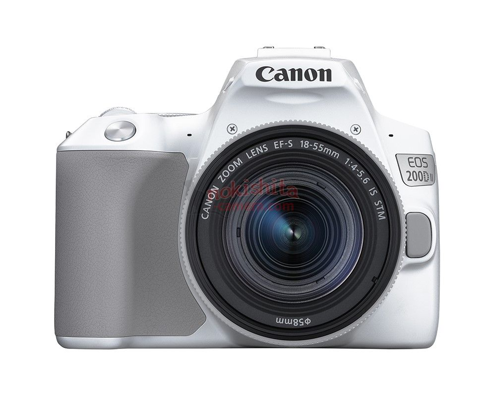 white canon 200d II