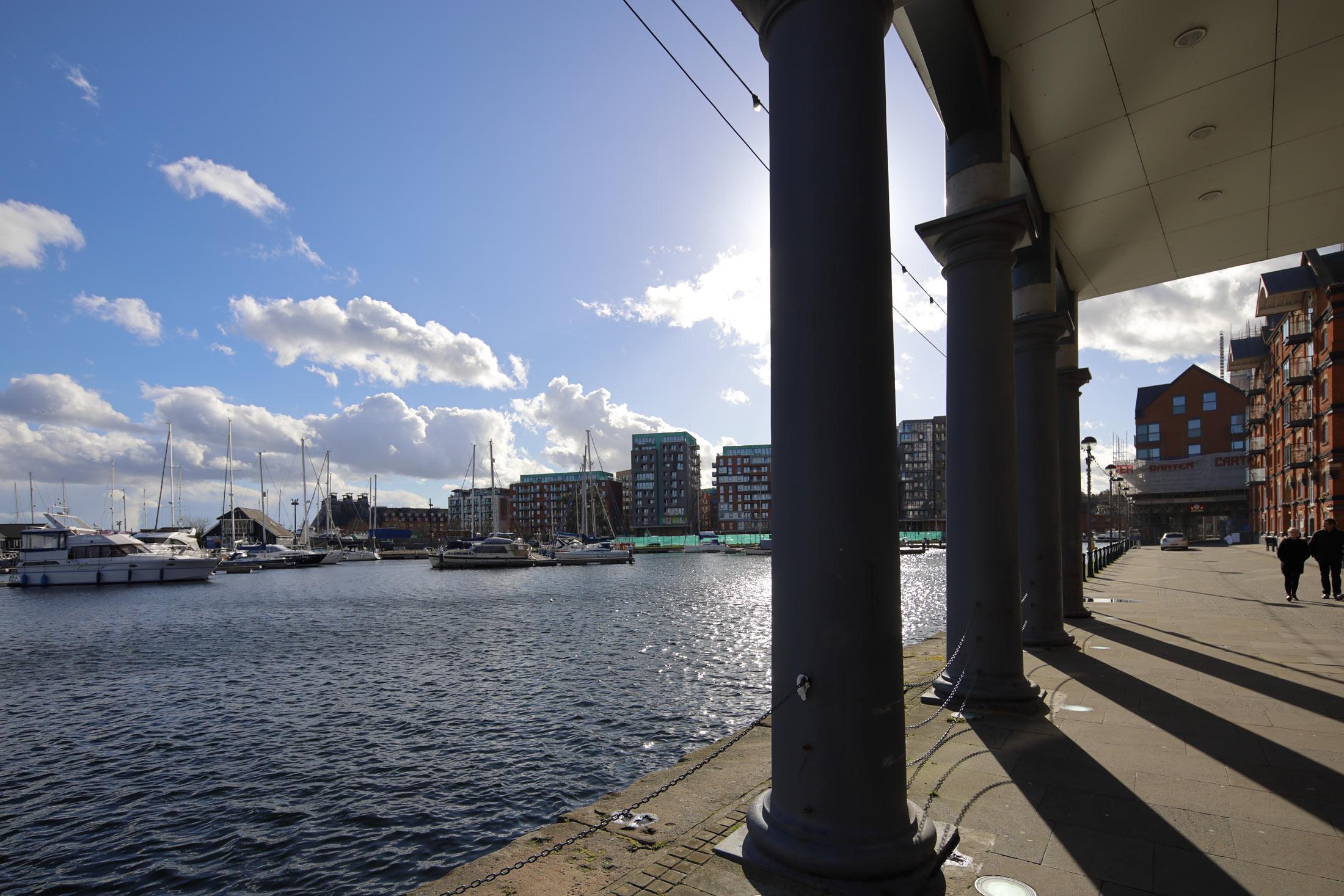 docks at Ipswich