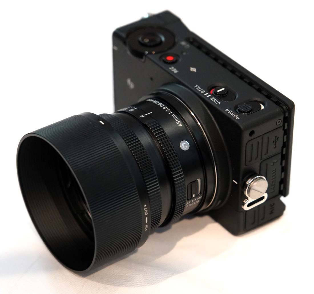 fp with lens
