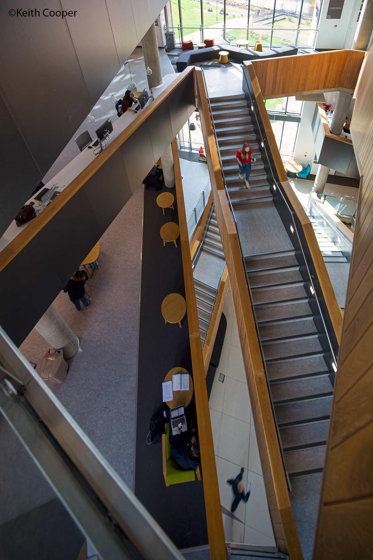 DMU staircase