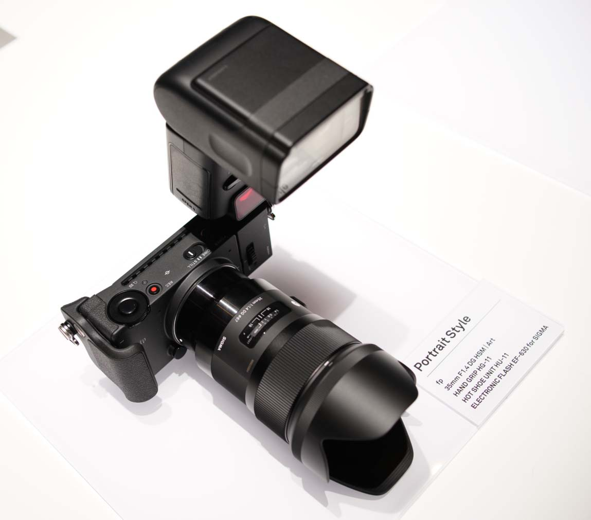 Sigma Fp L Mount Camera Announced