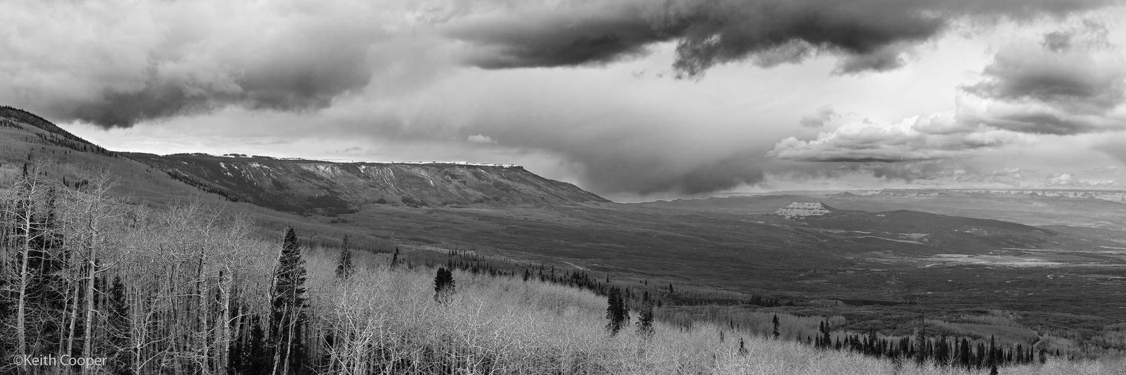 cropped Grand Mesa view