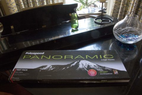 Panoramic printing review using Fotospeed paper