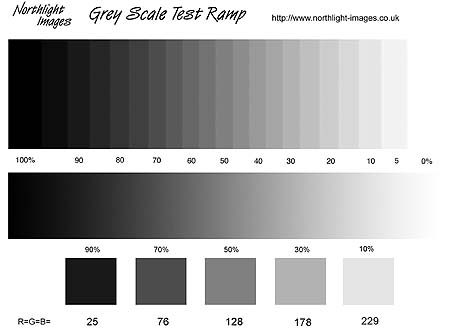 greyscale test-ramp