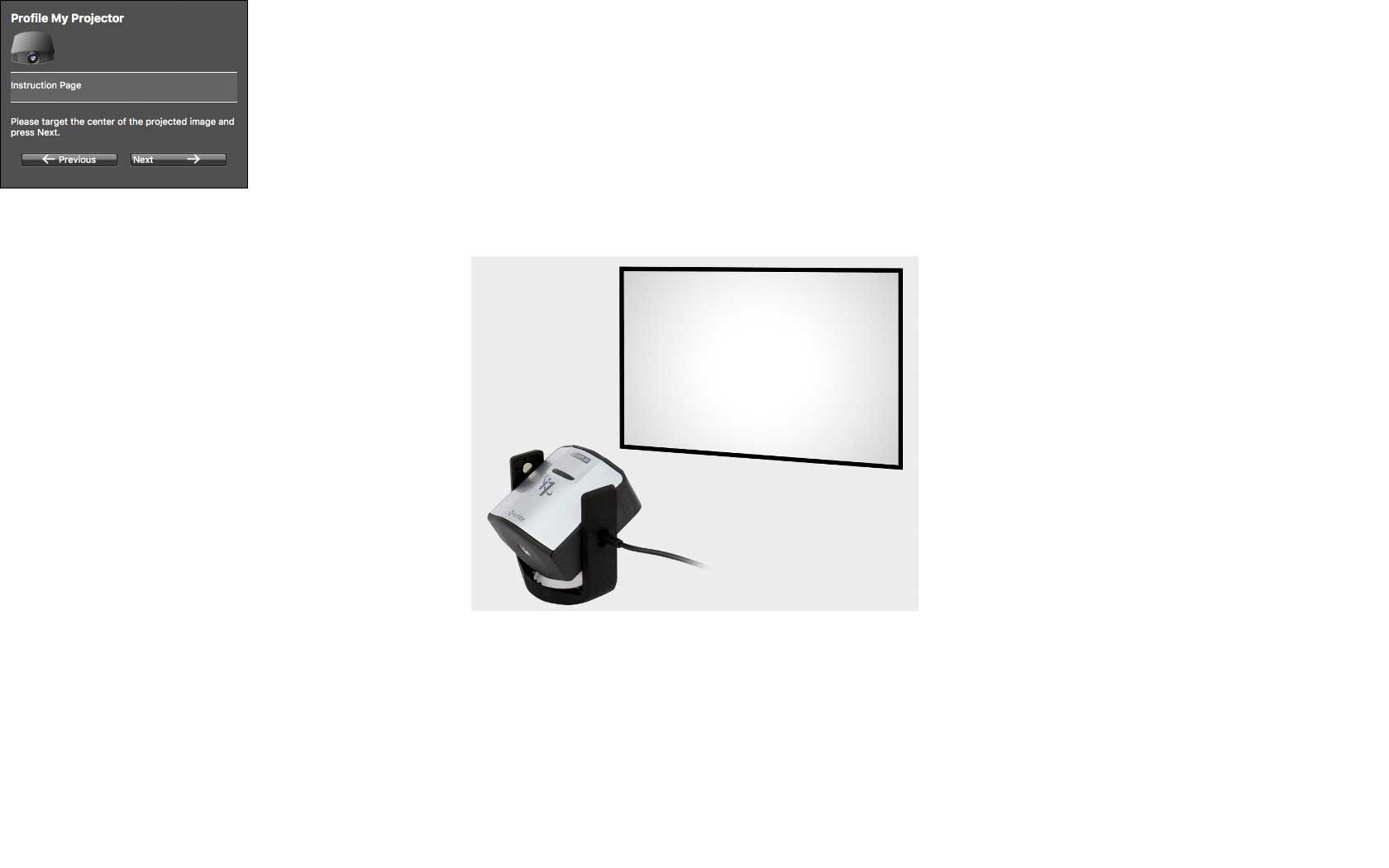 projector-profiling