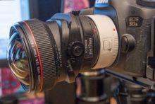 Teleconverters and lens tilt