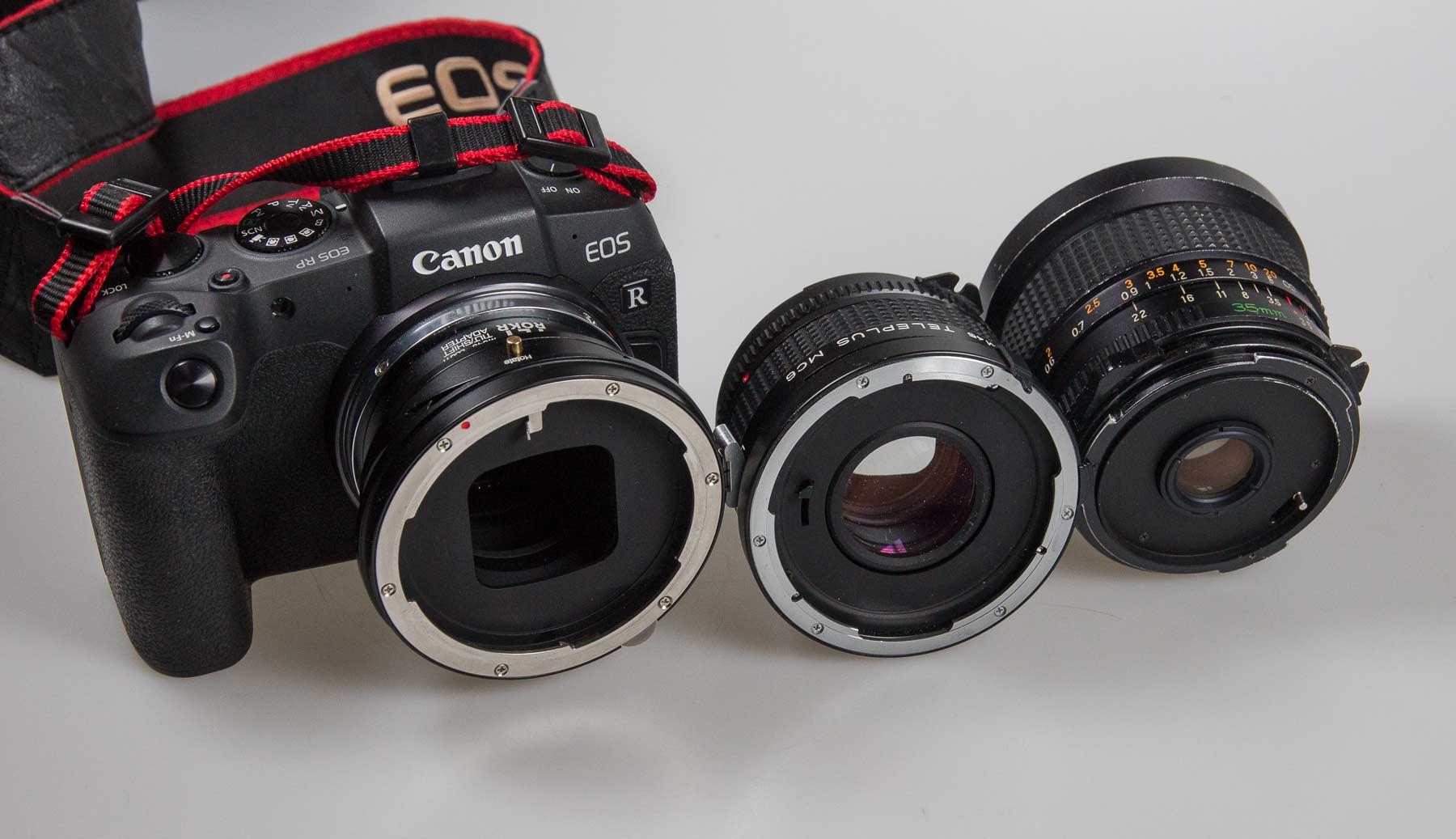 teleconverter-and-lens