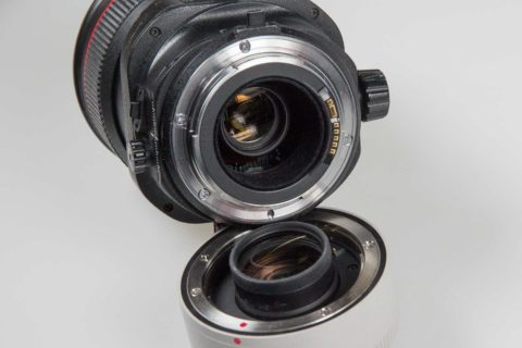 Teleconverters and shift lenses