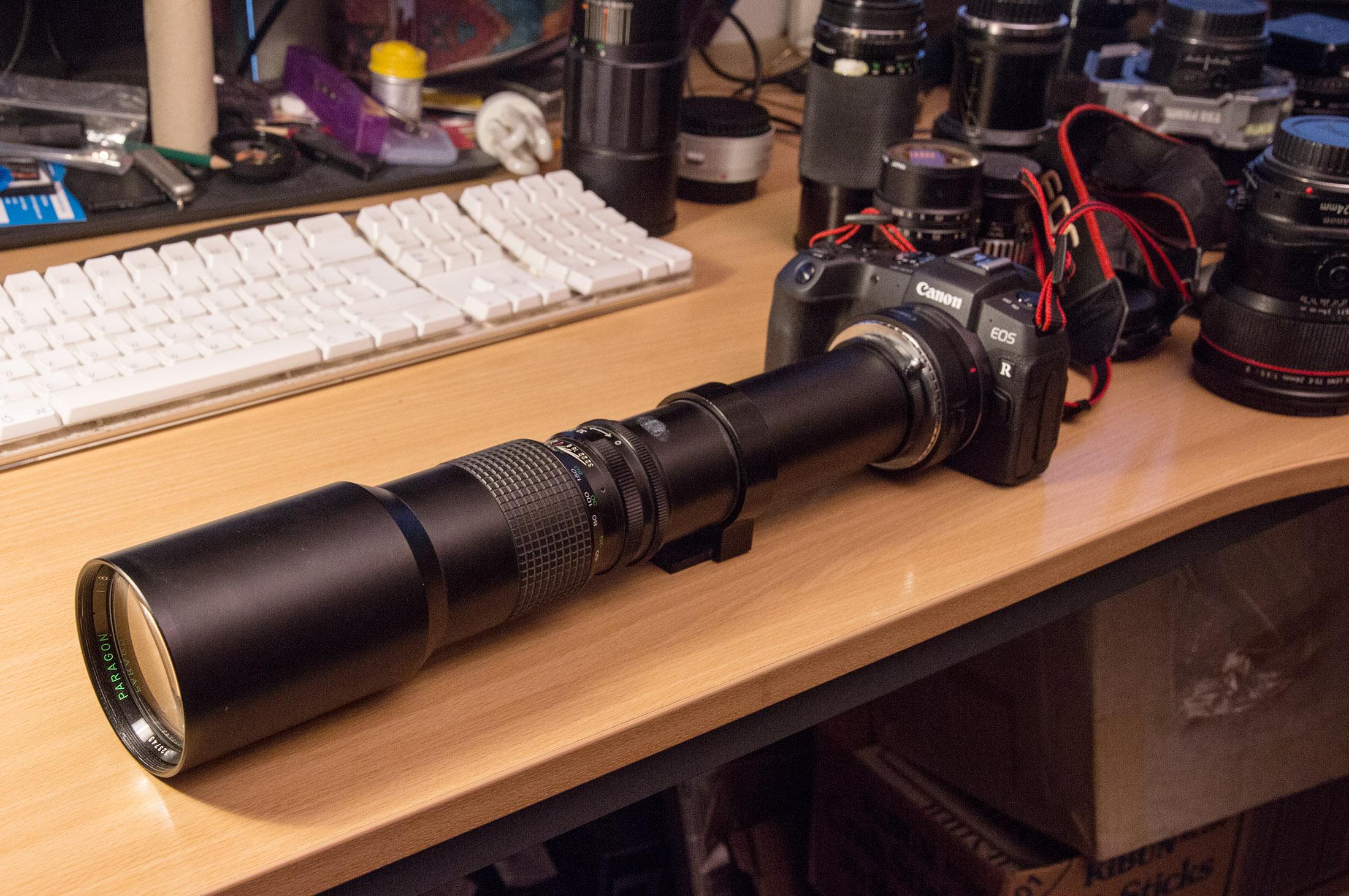 500mm f8 lens