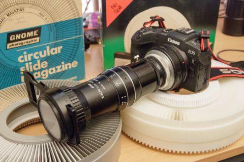 Jessop zoom slide duplicator lens