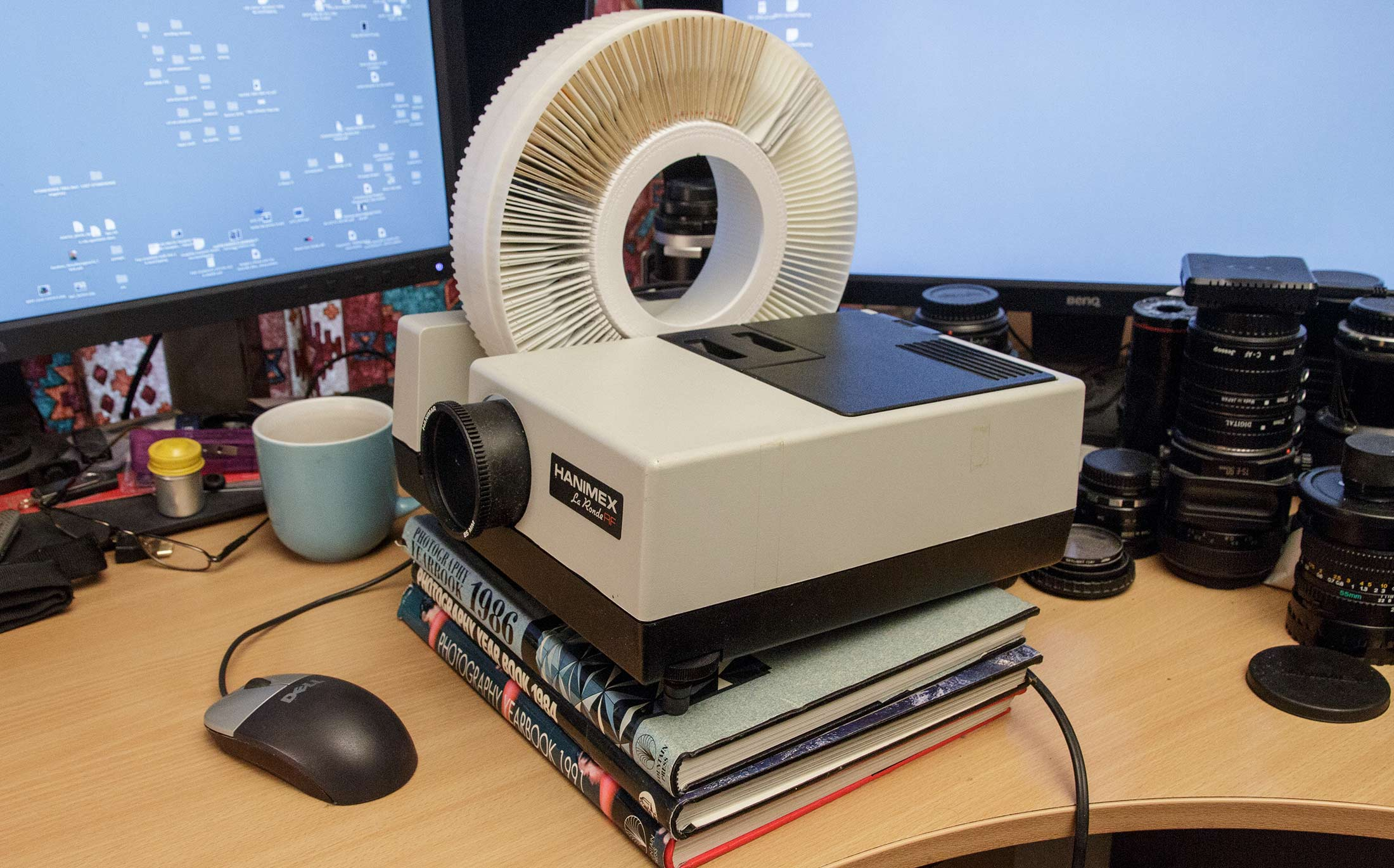 slide-projector