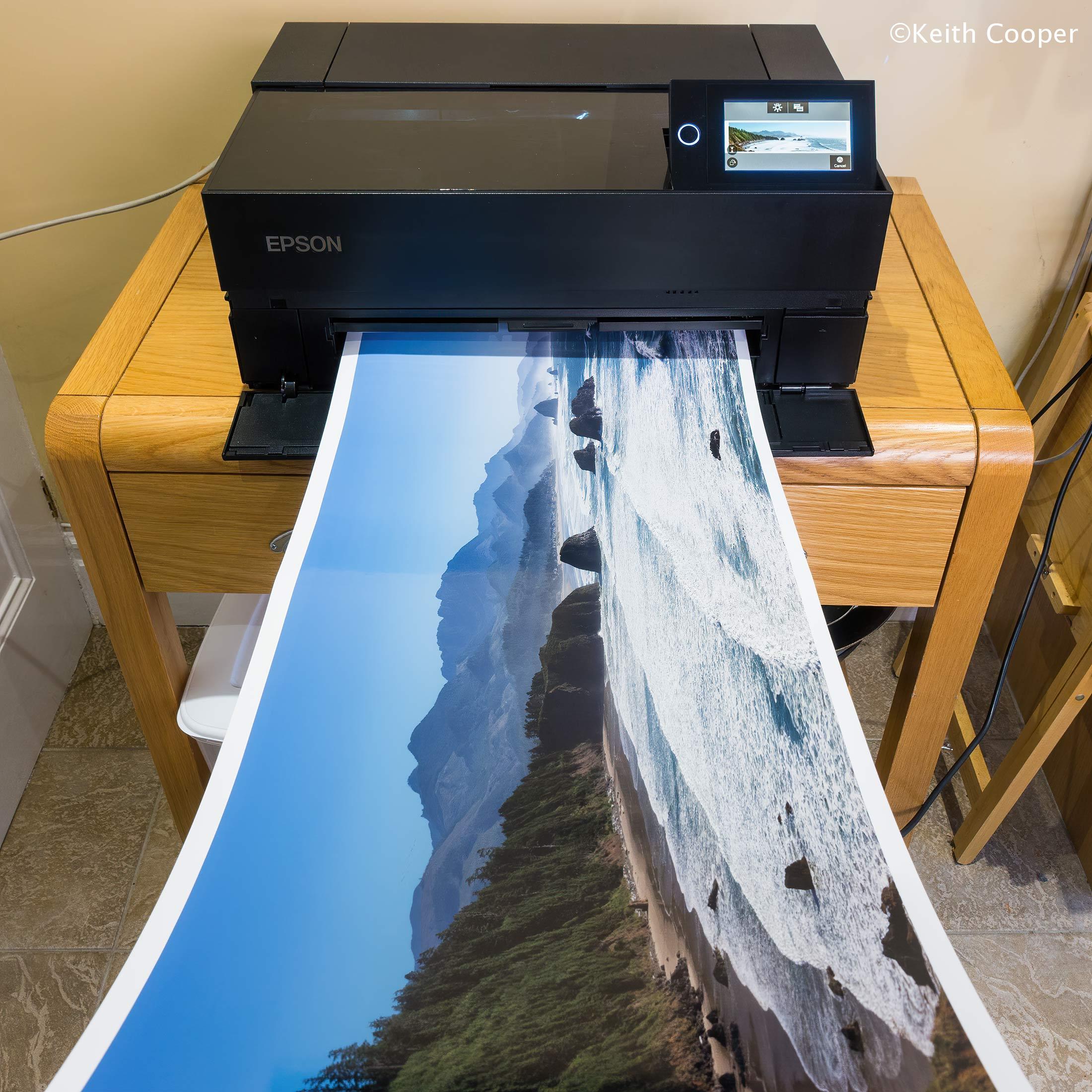 long-print on P700