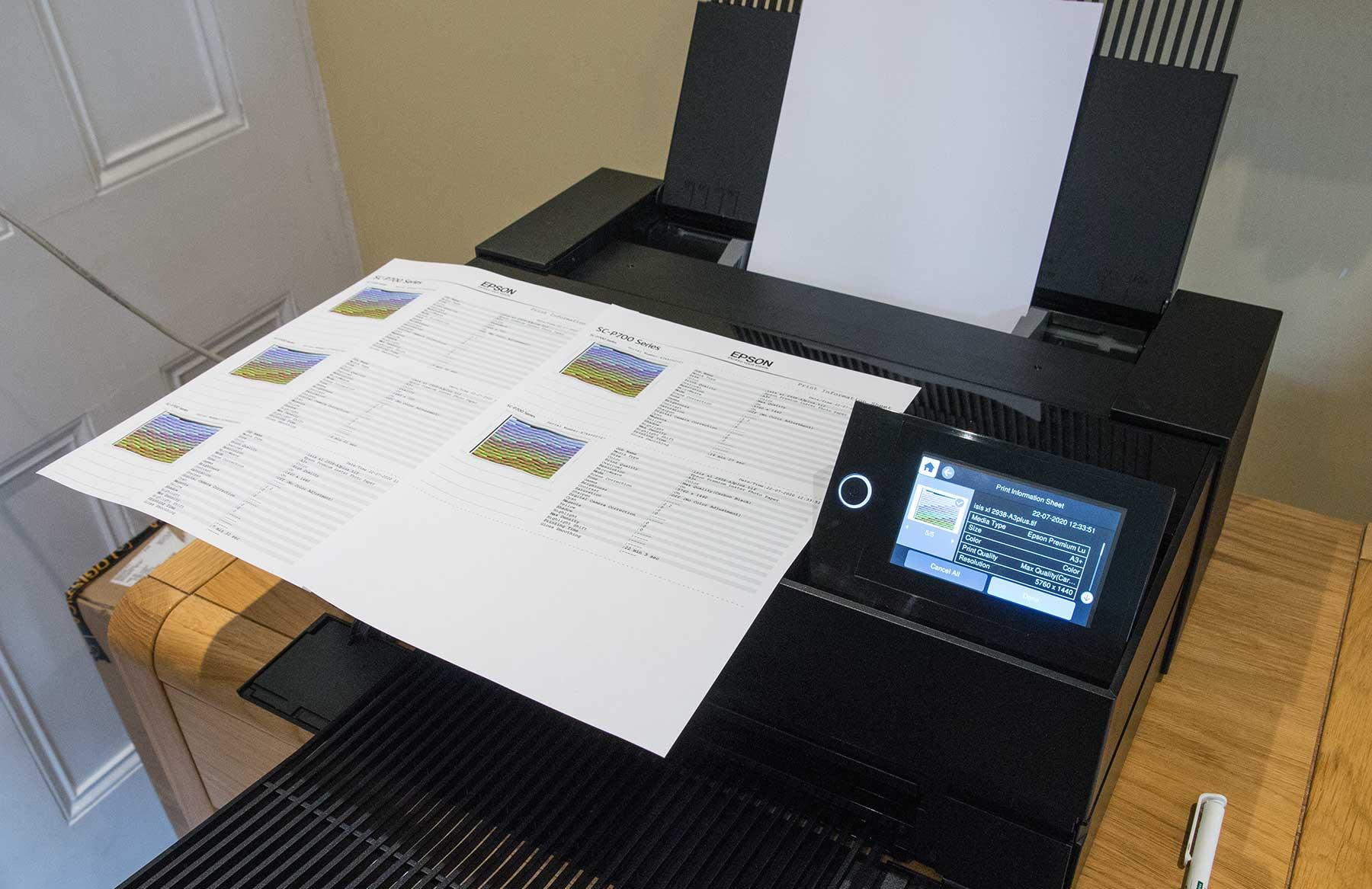 print-information-sheets